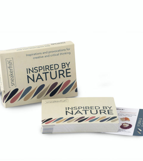 "Sneakerfish ""Inspired By Nature"" Card Deck"