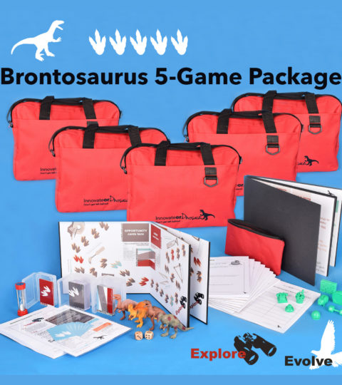 Innovate Or Dinosaur: Brontosaurus 5-game Package