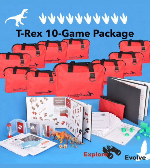 Innovate Or Dinosaur: T-Rex 10-game Package