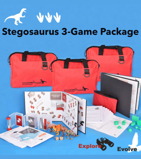 Innovate Or Dinosaur: Stegosaurus 3-game Package